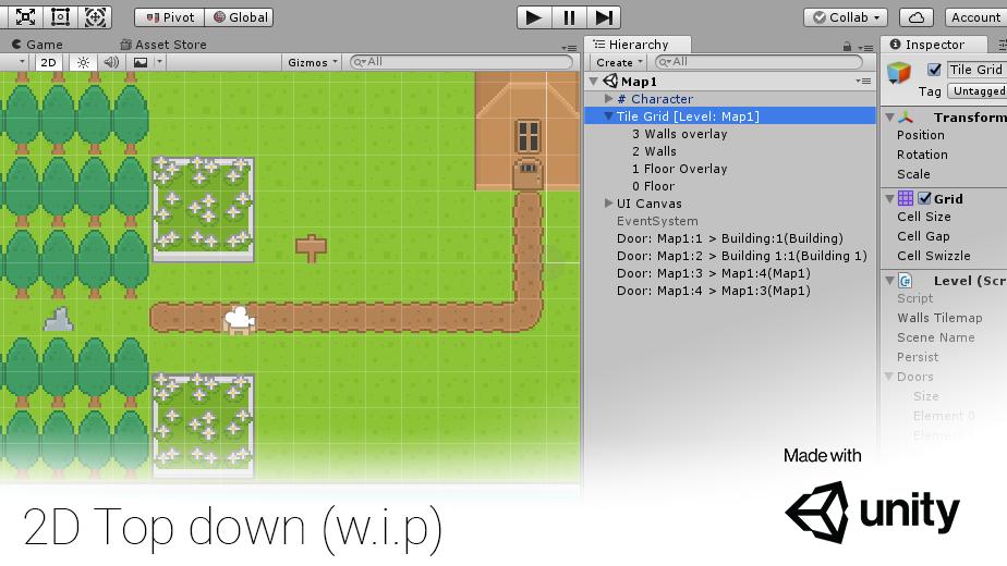2D Top down (w i p + WebGL build) - Robert Straub